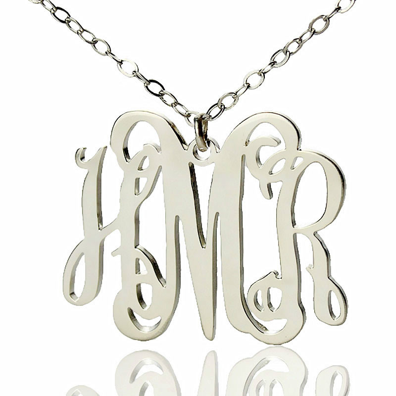 Alexis Rose Initial Necklace