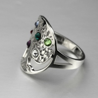 birthstone ring for mothers