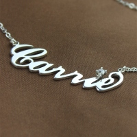 Celebrity NamePlate Necklace