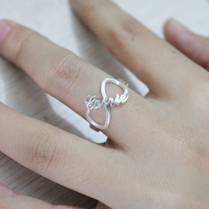 Sterling Silver Infinity Rings
