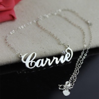 carrie bradshaw name necklace
